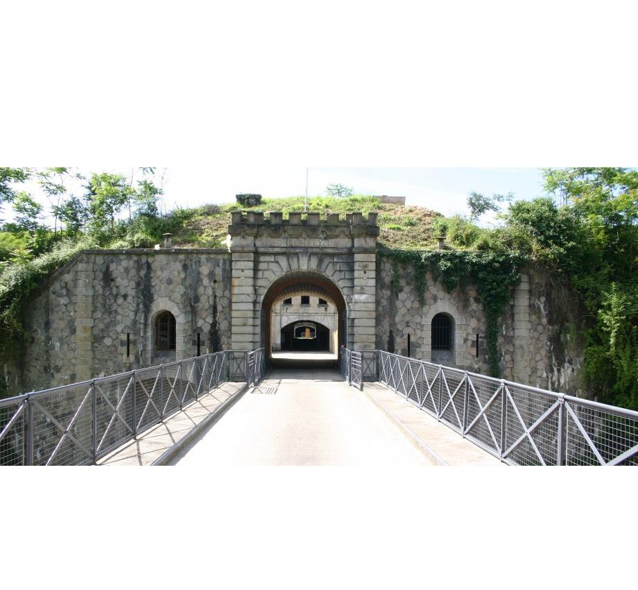 La caponnière du Fort de Feyzin