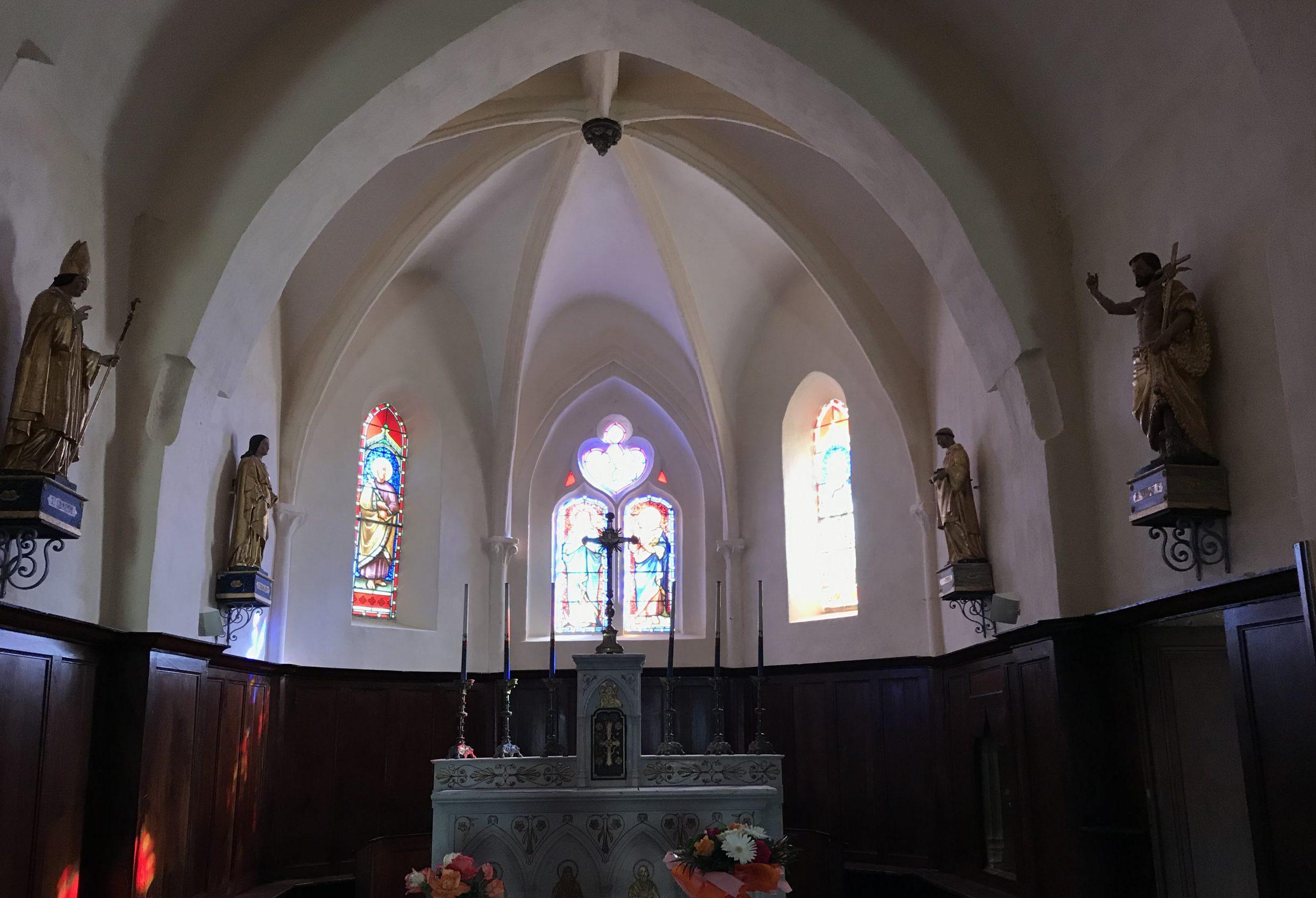 Rénovation de l'église Saint-Laurent-d'Arbuissonnas