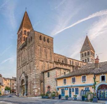 Abbaye de Tournus : restauration du portail nord