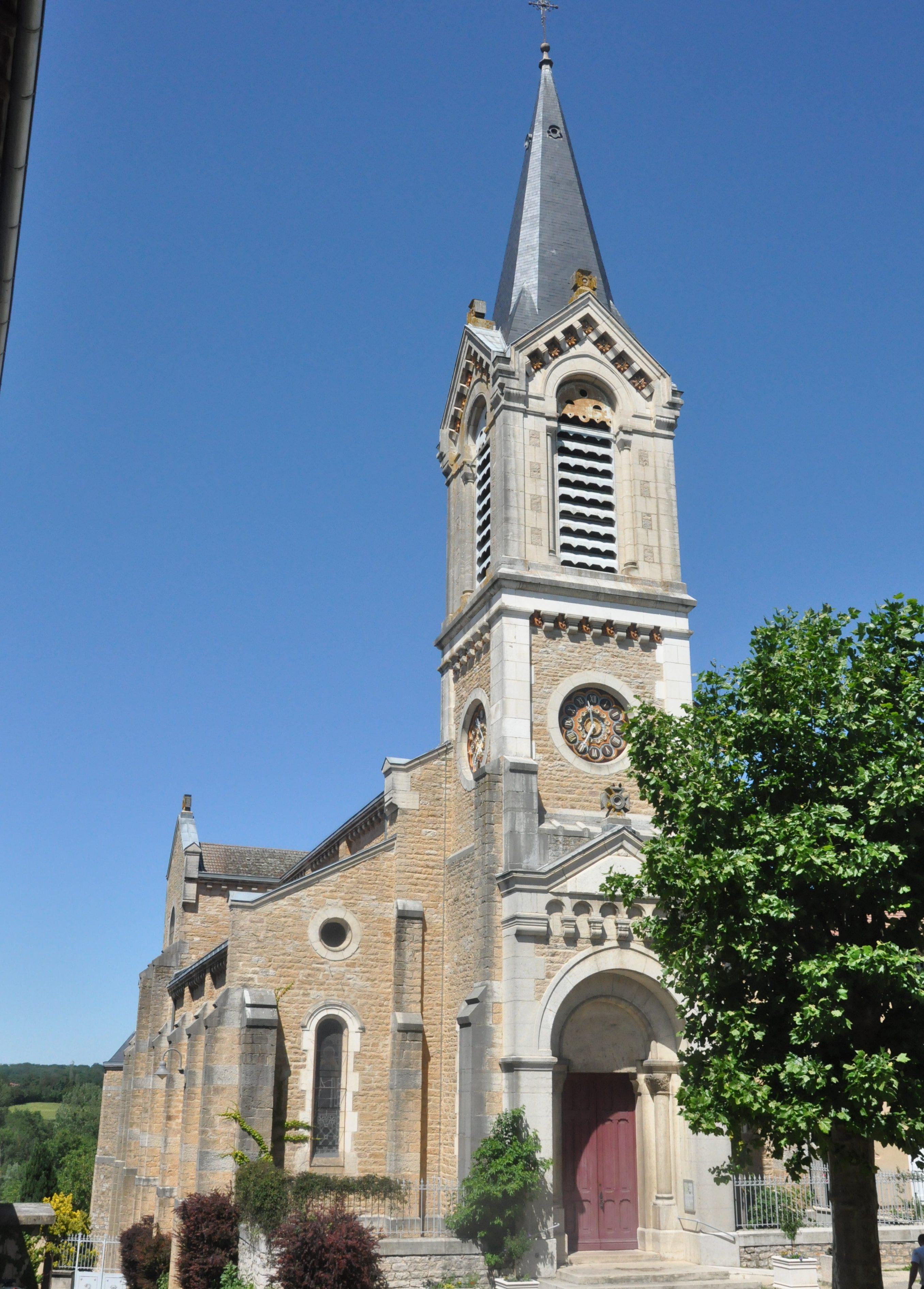 Neuville-les-Dames : rénovation de l'église Saint-Maurice