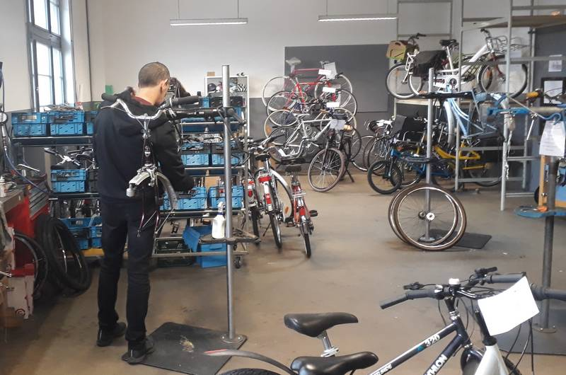 Unis bike : insertion par le vélo