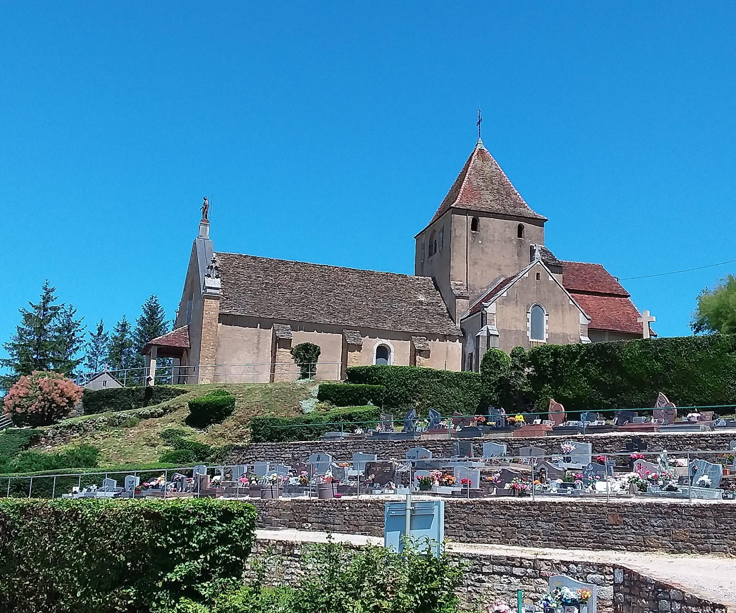 Rénovation de l'église de Champagnat