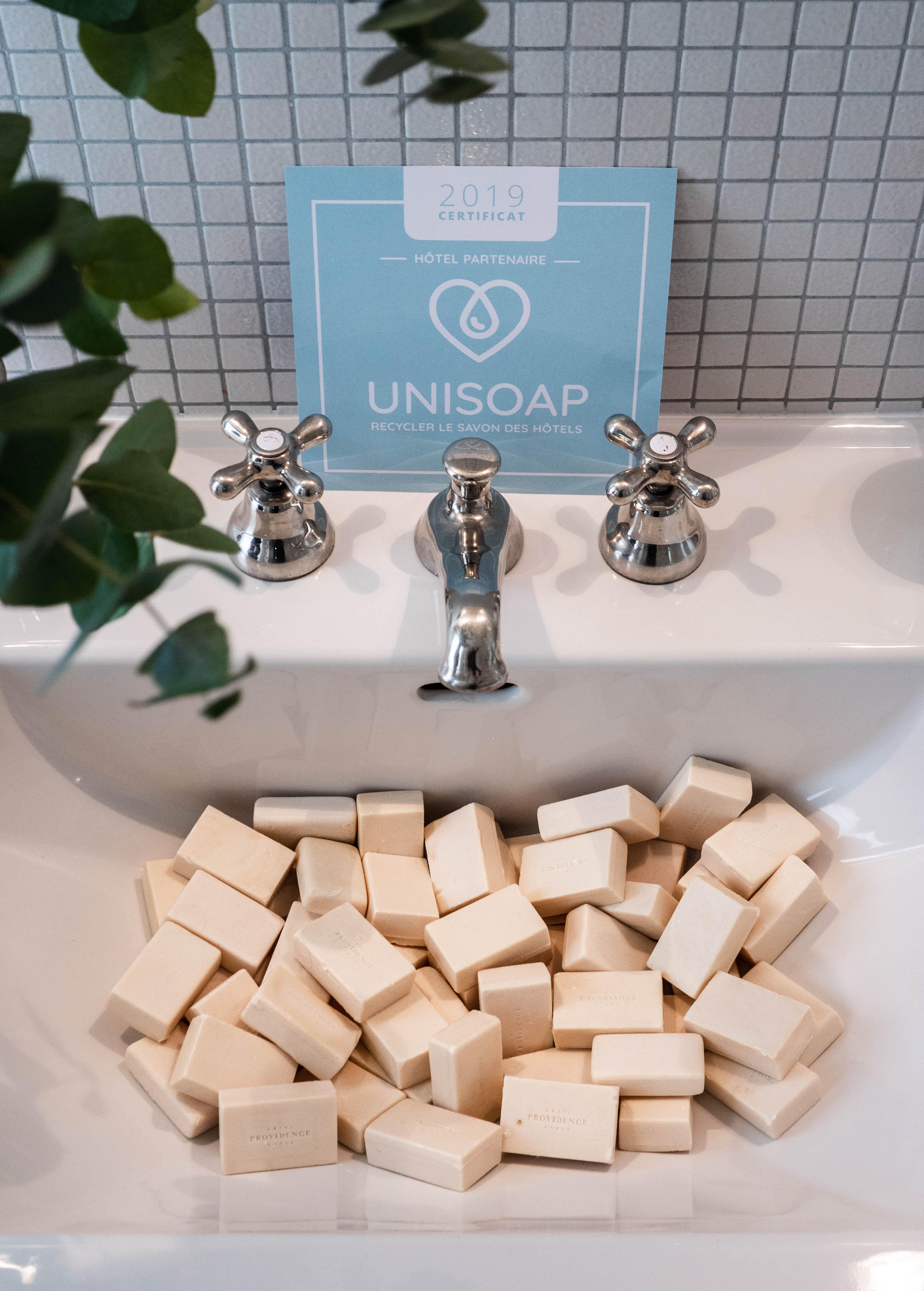 Unisoap : recycler les savons d'hôtel à des fins humanitaires