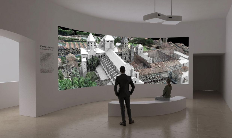 Abbaye de Cluny : nouveaux dispositifs de médiation