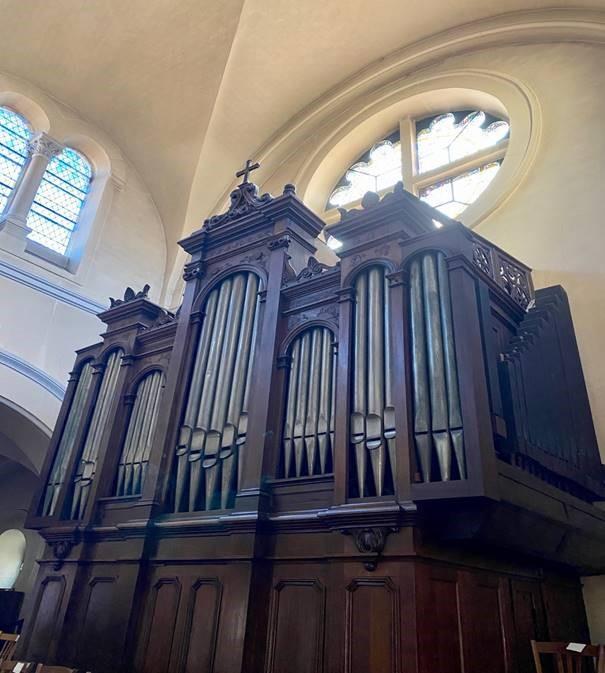 Rénovation d'un orgue
