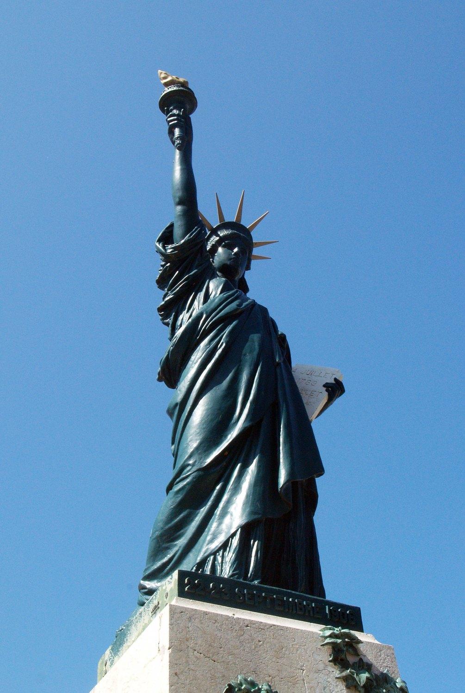 Restauration de la statue de la Liberté